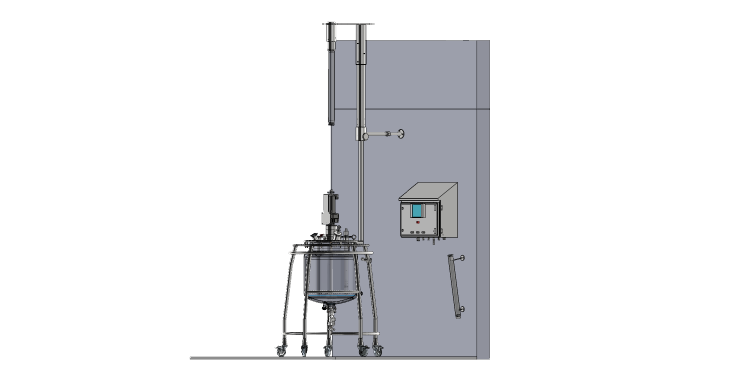 Zakázkový míchaný reaktor